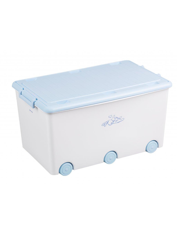 Box na hračky Tega Zajačik biely