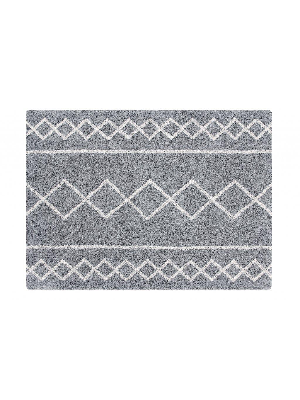 Detský koberec Oasis sivý