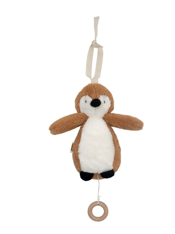 Závesný tučniak s hudbou Jollein caramel 1