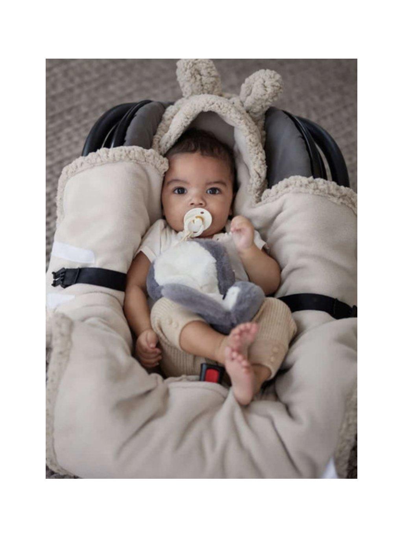 Detská Wrap deka Bunny Jollein 100x105cm béžová