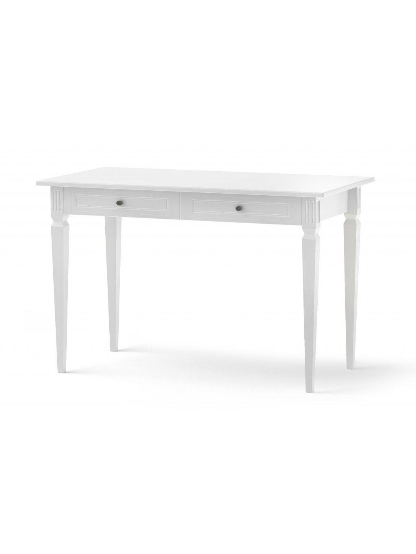 Písací stolík Ines biely 0