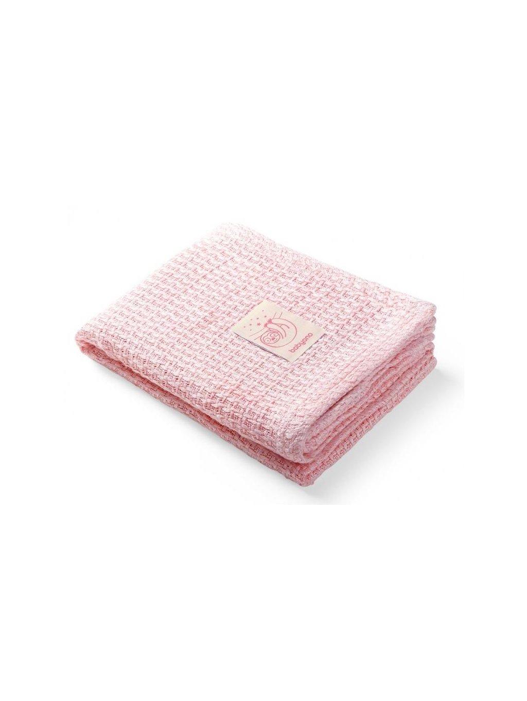 Bambusová deka Pink 75x100 cm Posledný kus