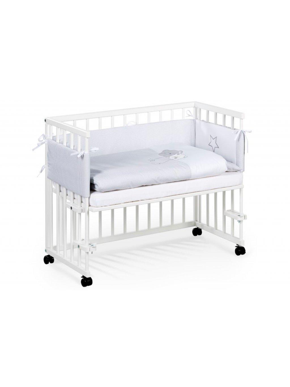 Postieľka k posteli Pikolino biela 11