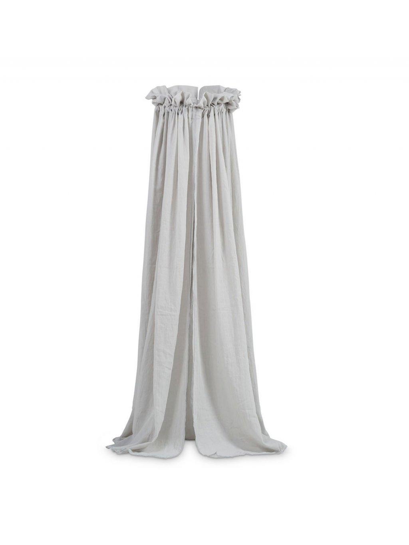 Baldachýn Jollein sivý 155 cm