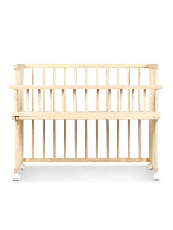 Buková postieľka k posteli biela 90x41 Baby Moo 4