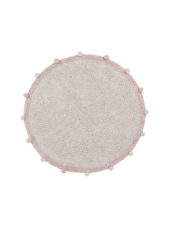 Detský bavlnený koberec Lorena Canals Ø 120 Cm Bubbly Vintage Nude