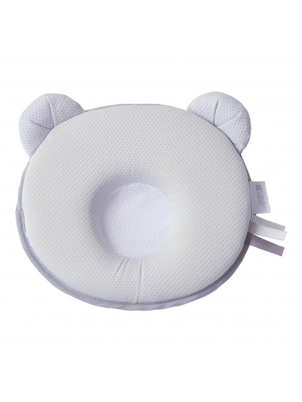 Ergonomický vankúš Panda Air sivý