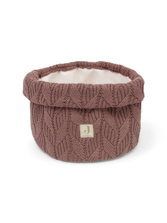 Prebaľovací košík Jollein Spring knit Chestnut