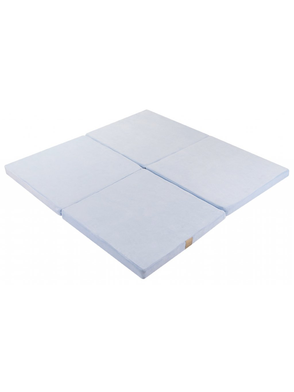 Hracia podložka Square x4 babyblue 01