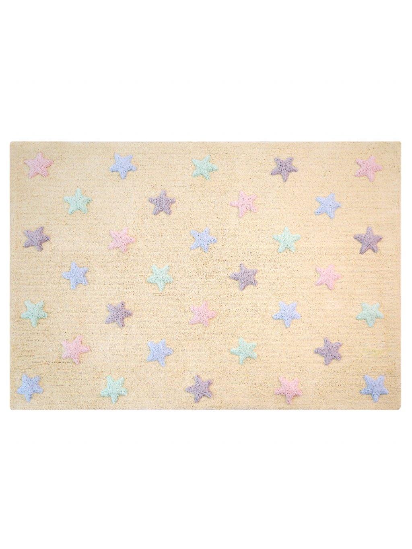 Detský koberec Stars Yellow 09