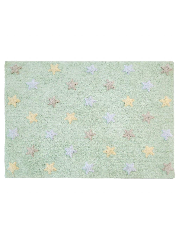 Detský koberec Stars mentolový 2