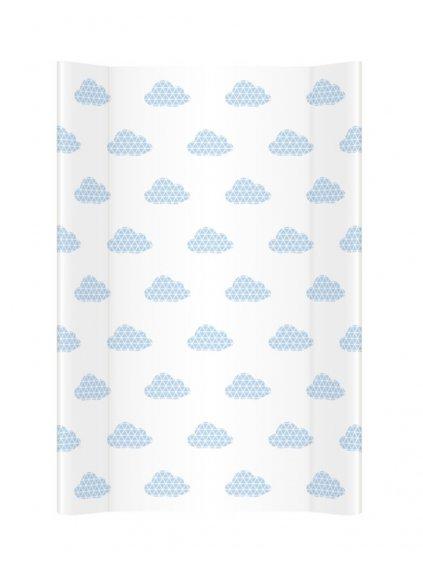 Prebaľovacia podložka Clouds modrá 11