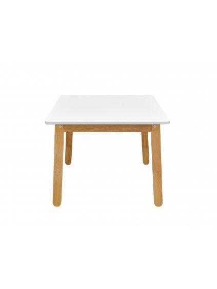 Detský stolík Woody pure biely