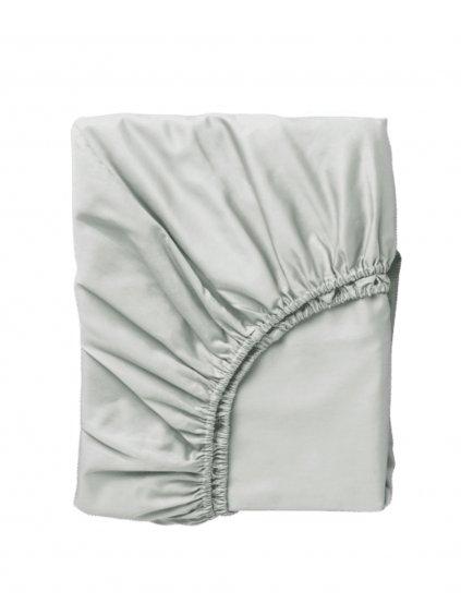 Detská bavlnená plachta bledosivá 120x60 0