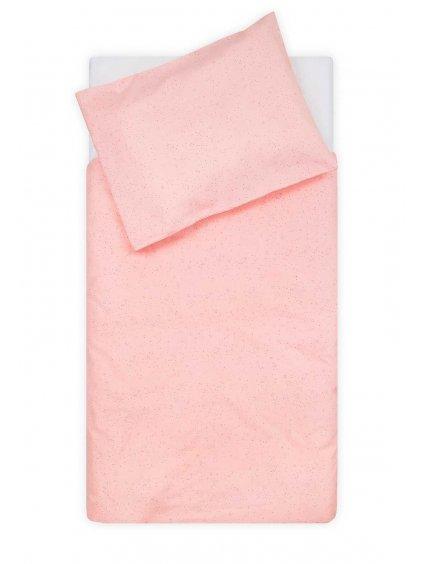 Bavlnené obliečky Mini Dots 135x100 cm - púrdrové