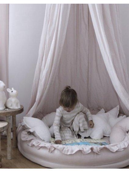 Detské hniezdo okrúhle Mimi ružové
