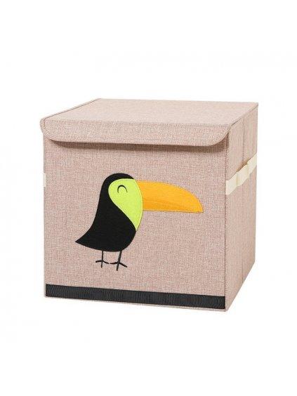 Box na hračky Tukan
