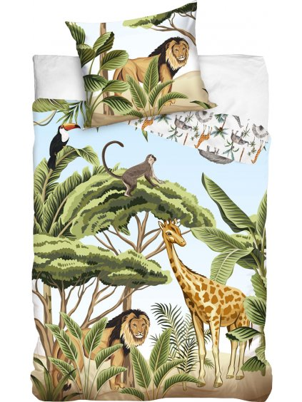 Detské obliečky Jungle Junior 140x200