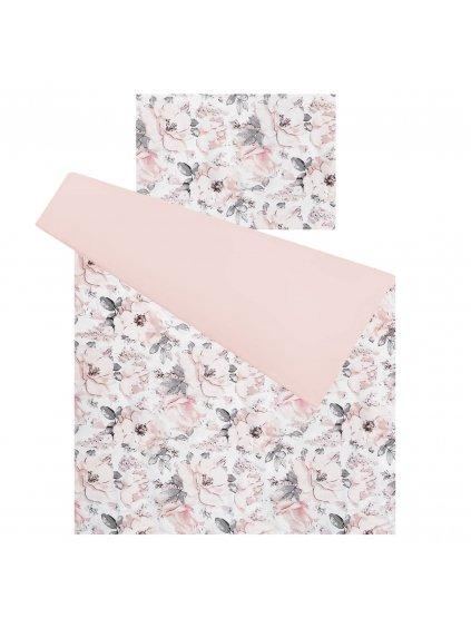 Detské obliečky Flowers Pink 135x100