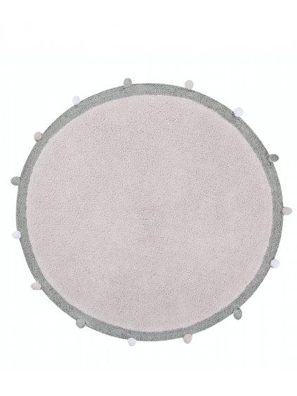 Detský koberec Bubbly ružový 120 cm 1