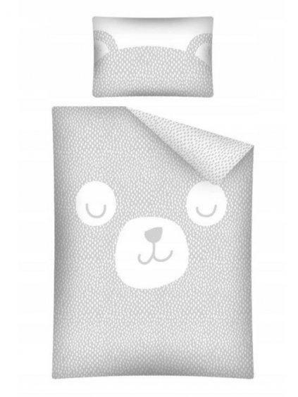 Bambusové obliečky Baby Bear sivé rôzne rozmery 015