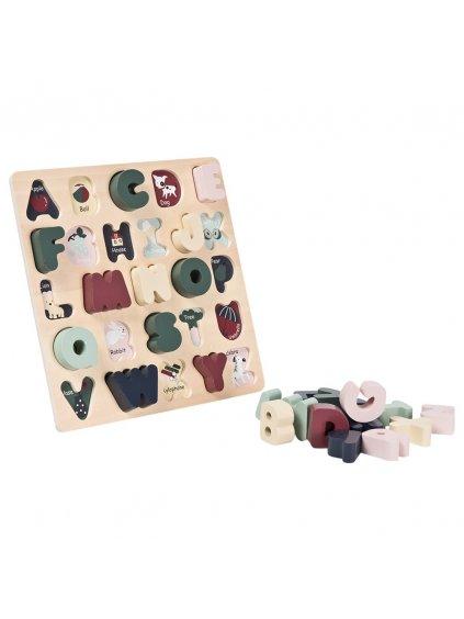Detské puzzle Abeceda po Anglicky