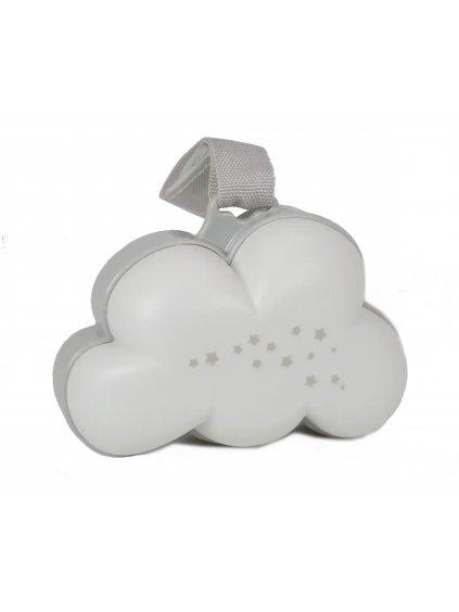 Lampa oblak na uspávanie s bielym šumom