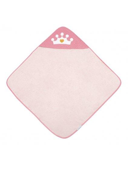Canpol babies Mäkká osuška s kapucňou 85x85cm Queen, ružová 1