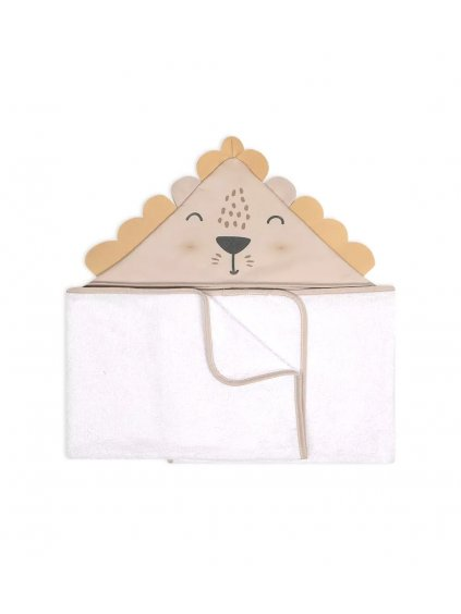 Bambusový uterák BABY ANIMALS&LOVE LION Albero Mio 120x70 cm