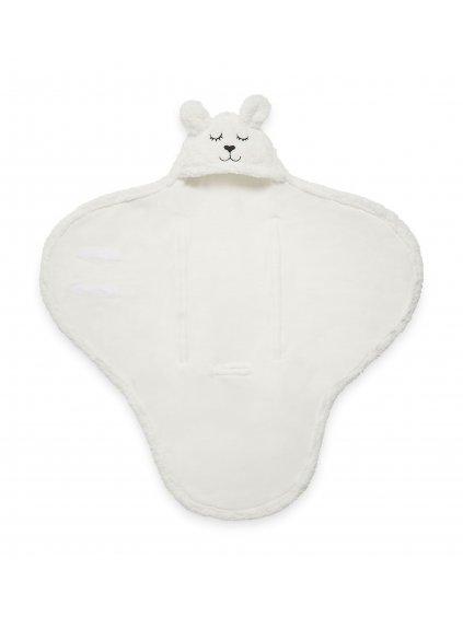 Detská Wrap deka Bunny Jollein 100x105cm ecru