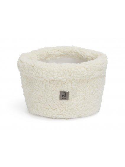 Prebaľovací košík Jolle - Teddy cream White