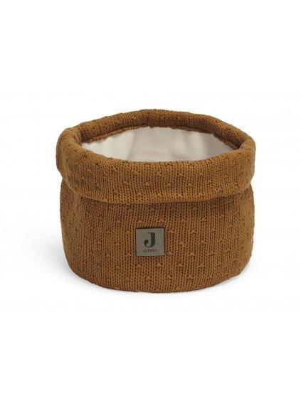 Prebaľovací košík Jollein Bliss knit Caramel