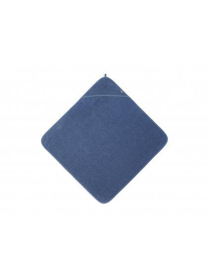Uterák Frotté s kapucňou Jollein 75x75 cm Jeans Blue