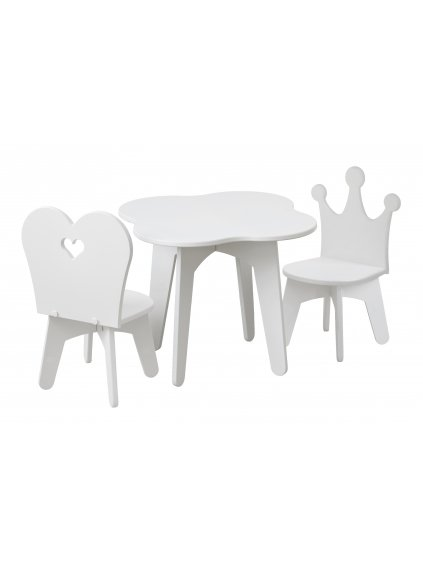 Set detský stolík a 2 kresielka Princezná