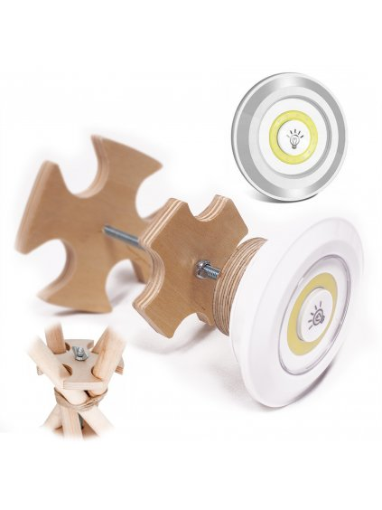 Teepee stabilizátor + LED Lampa