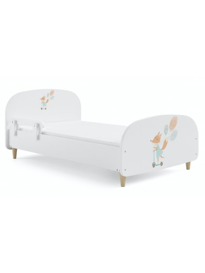 Detská posteľ Olive Líška + bariérka rôzne rozmery 0