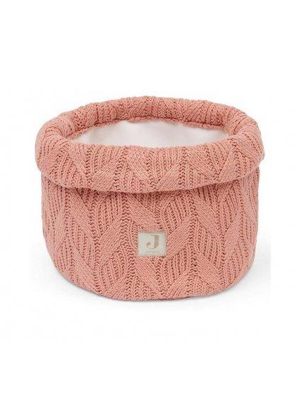 Prebaľovací košík Jollein Spring knit Rosewood 3