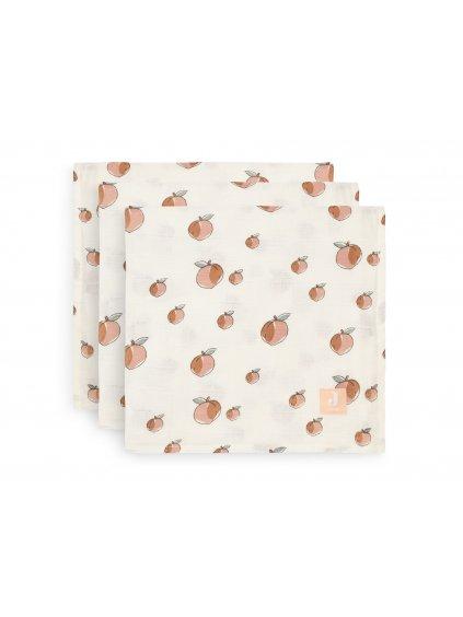 Hydrofilné plienky Jollein Peach 70x70 cm 3ks