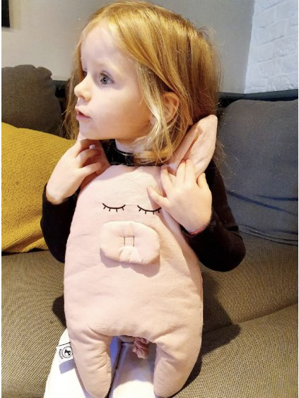 Detský vankúš Prasiatko Pig Cuddly 06