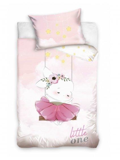 Detské bavlnené obliečky Little One Zajačik rôzne rozmery 2