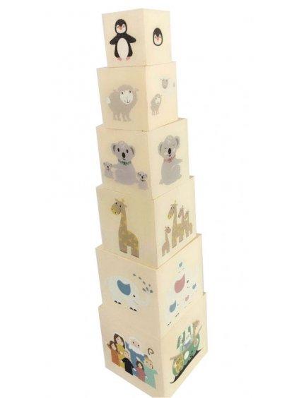 Magni drevené kocky Noemova archa4