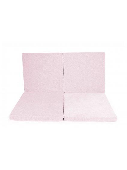 Hracia podložka Square x4 ružová 3