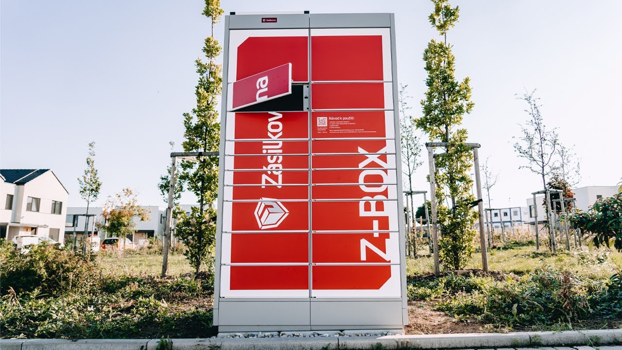 Zásilkovna - Samoobslužný Z-Box a Alzabox