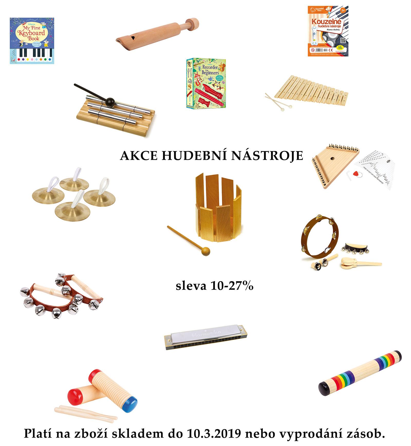 Akce hudební nástroje
