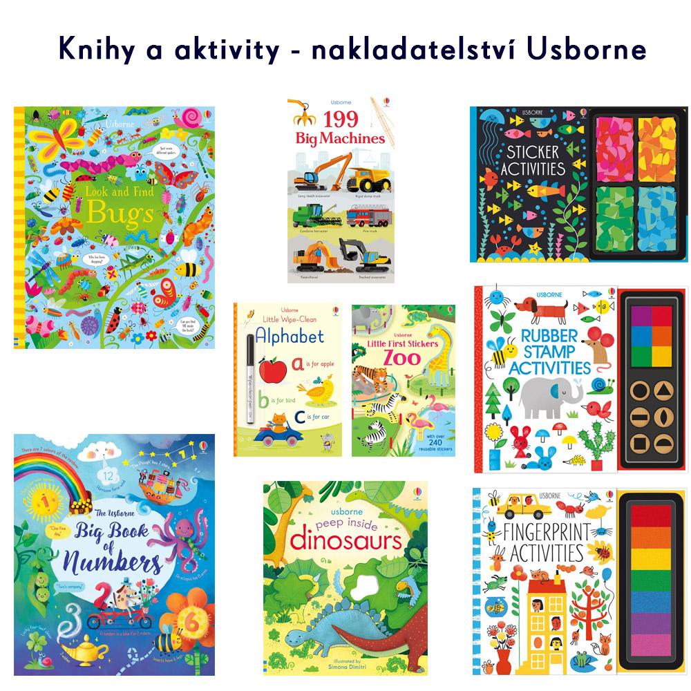 Knihy a aktivity - nakladatelství Usborne