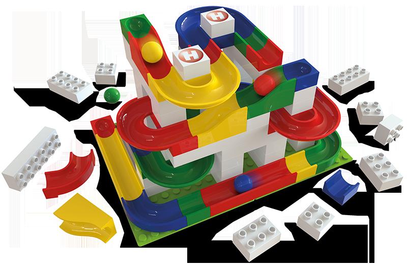 Hubelino Building sets (stavební sety)