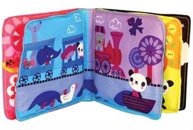 Cot, cloth & buggy books (látkové knihy a knihy na kočárek)