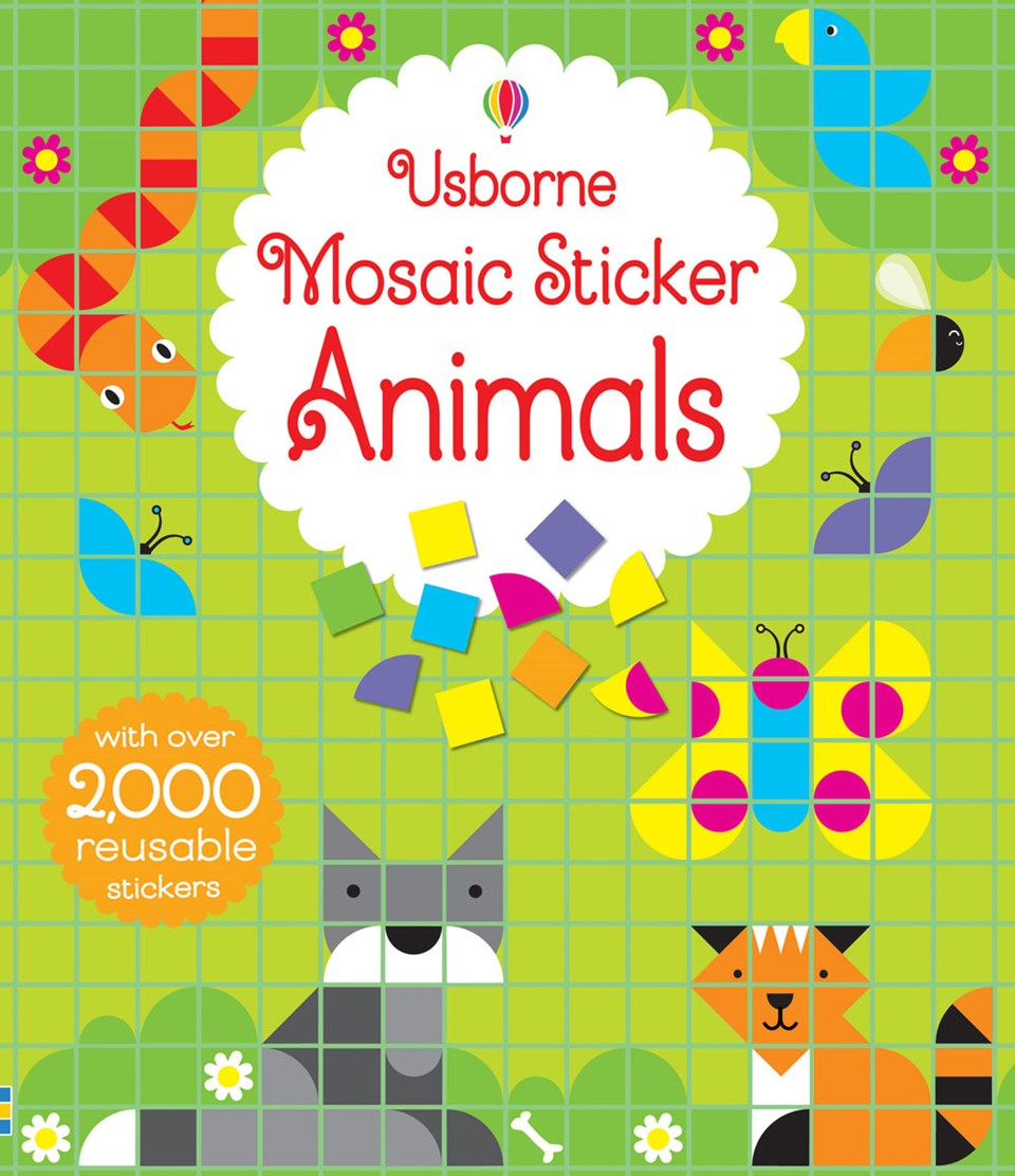 Mosaic Sticker Book