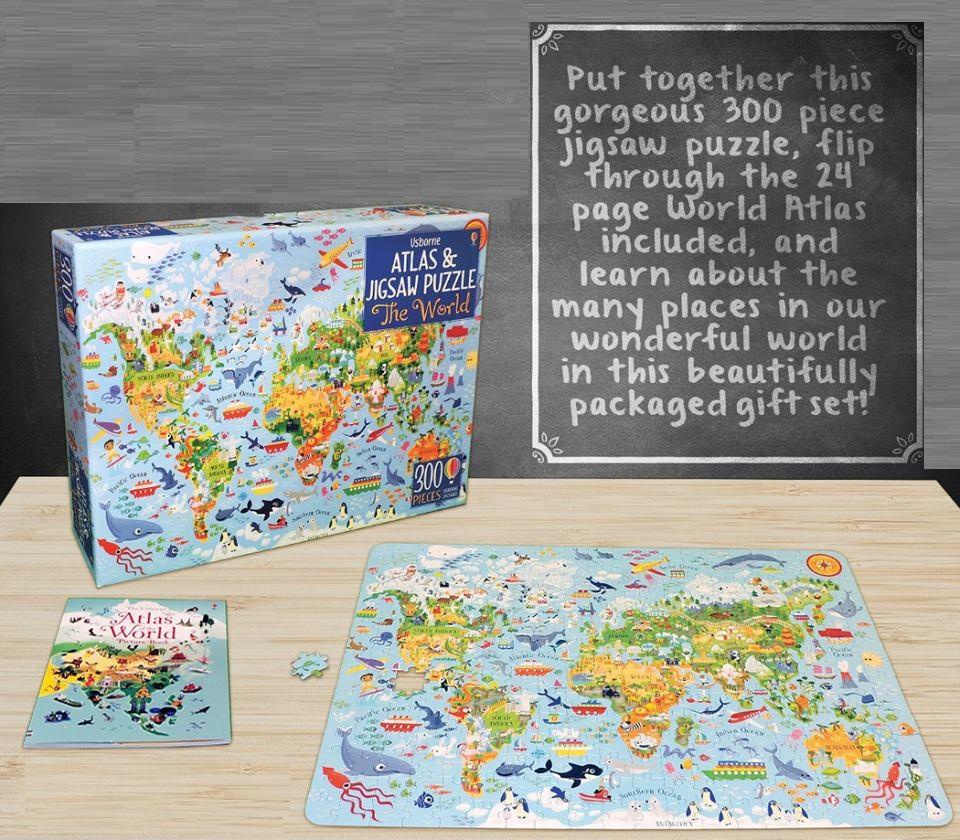 Book & jigsaw (puzzle s knihou)