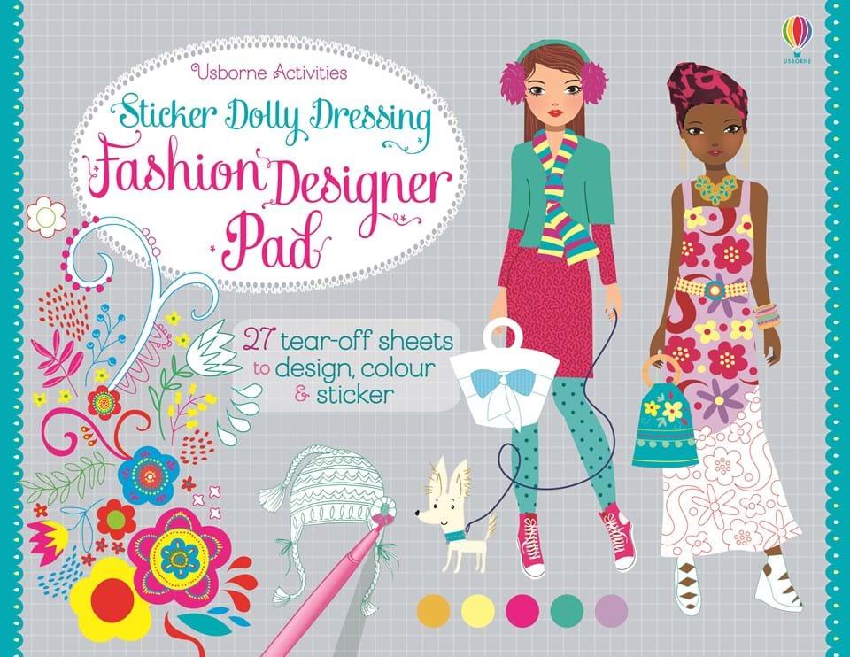 Fashion Sticker & Activity Books